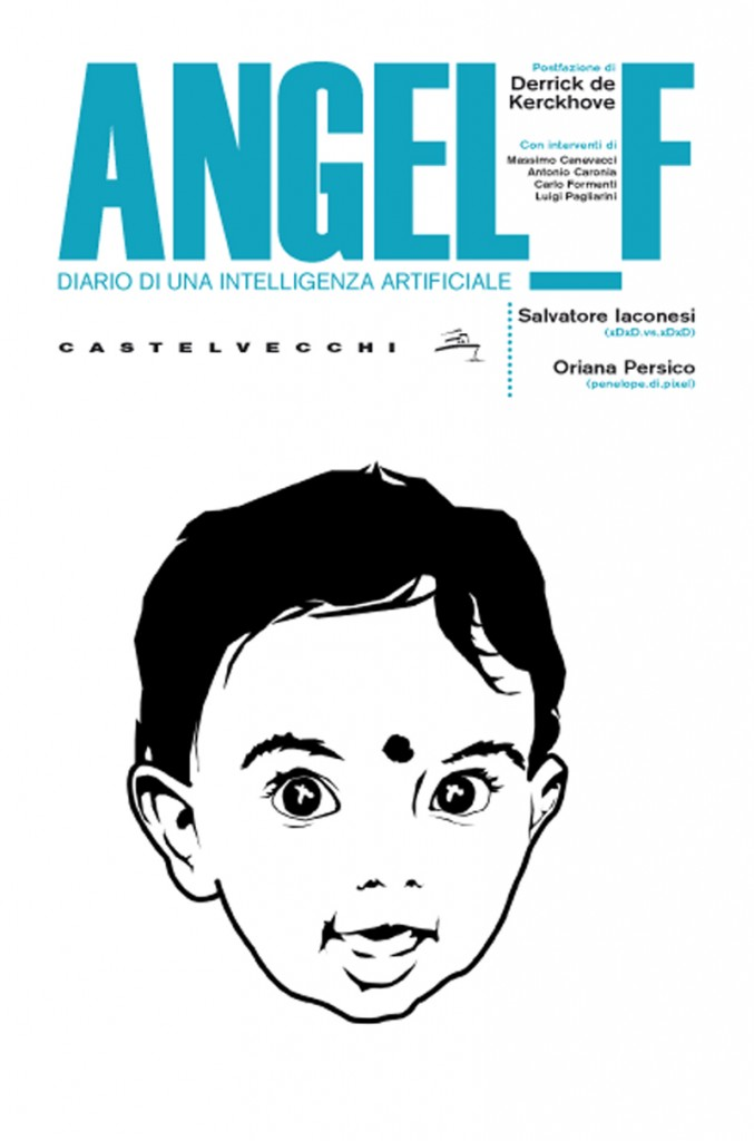 Copertina di Angel_F. Diario di una intelligenza artificiale.